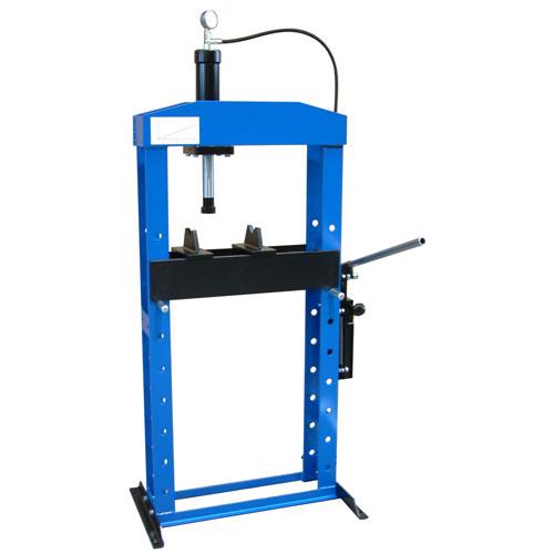 Пресс гидравлический, напольный, с ручным приводом, 20 тонн, ОМА, ОМА-654В