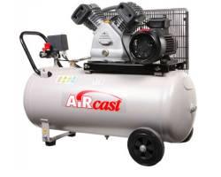 Компресор Aircast с горизонтальным  ресивером 100 литров, СБ4/С-100.LB30А