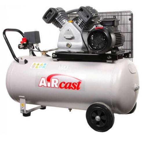Компресор Aircast с горизонтальным  ресивером 100 литров, СБ4/С-100.LB30