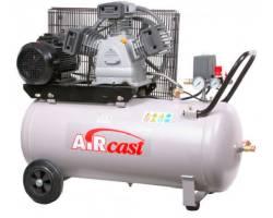 Компресор Aircast с горизонтальным  ресивером 100 литров, СБ4/С-100.LB40