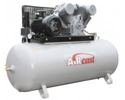 Компресор Aircast с горизонтальным  ресивером 500 литров, СБ4/С-500.LТ100