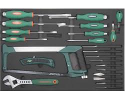 Набор инструмента, 25 предметов, EVA ложемент, D737125SV
