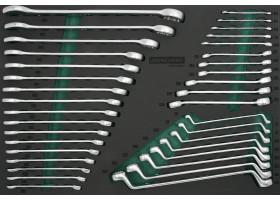 Набор гаечных ключей, 36предметов, EVA ложемент, W23136SV