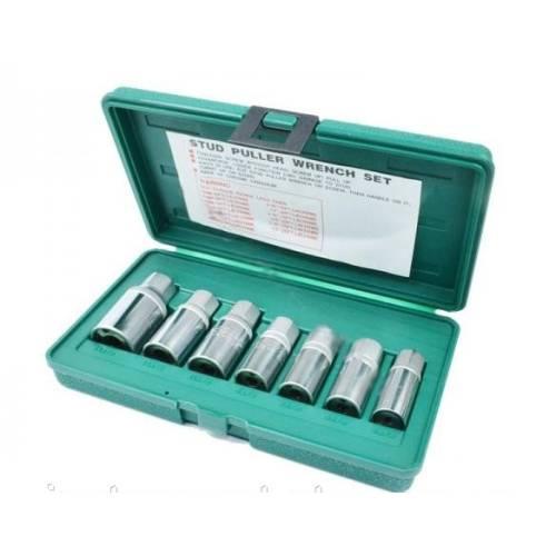 Комплект шпильковертов 5-14 мм, 7 предметов, AG010061