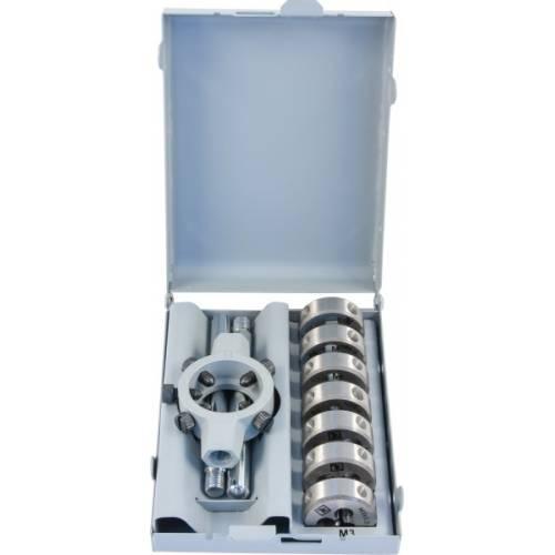 Набор плашек D-COMBO круглых ручных М3-М12, HSS, 8 предметов , MDS8