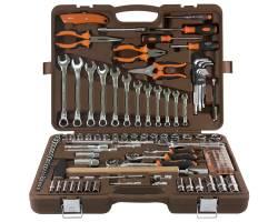 """131 предмет, универсальный набор инструментов 1/4"""", 3/8'' и 1/2"""", OMBRA,  OMT131S"""