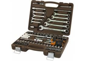 """Универсальный набор инструментов 1/4""""  и 1/2"""", 82 предмета, OMBRA,  OMT82S"""