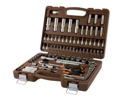 """Универсальный набор инструментов 1/4"""",  1/2"""", 94 предмета, OMBRA,  OMT94S"""