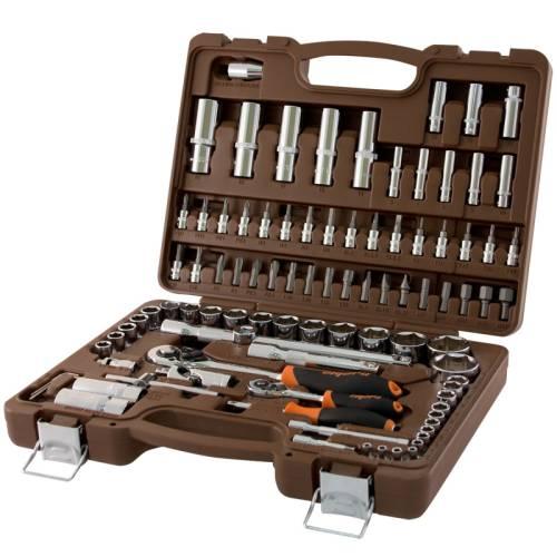 """94 предмета, универсальный набор инструментов 1/4"""",  1/2"""", OMBRA,  OMT94S"""