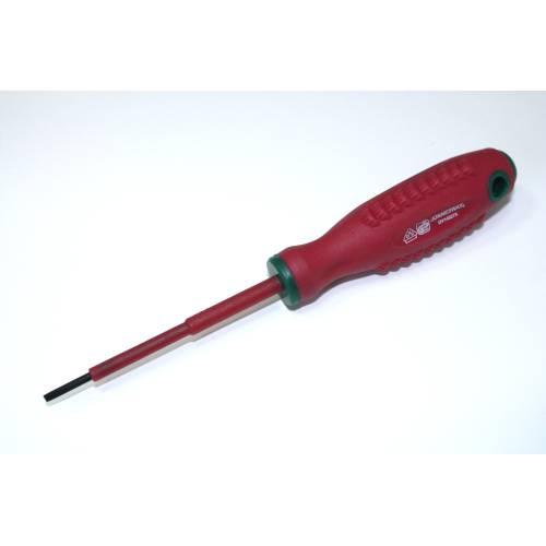 Отвертка шлицевая диэлектрическая  SL 3.0х80мм, DV14S380