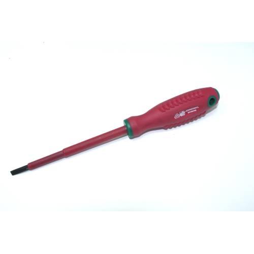 Отвертка шлицевая диэлектрическая  SL 4,0х100мм, DV14S4100