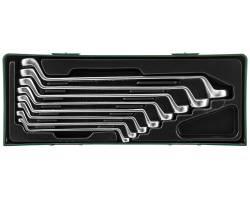 Набор ключей накидных 75-гр, 6-22 мм, ложемент в пластиковом кейсе, W23108SP
