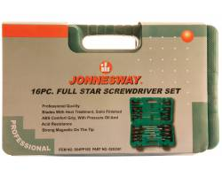 """Набор отверток шлиц и крест """" FULL STAR"""" SL 2х50-8х150  PH#1-3, 16 пр., D04PP16S"""