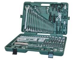 Универсальный набор инструментов, 128 предметов, S04H524128S