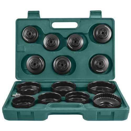Комплект чашек для съема масленных фильтров 65-100 мм, 14 пр., AI050004