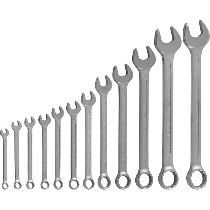 Набор ключей комбинированных 10-32мм, 12 предметов, W26112SA