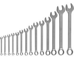 Набор комбинированных ключей 10-32 мм, 14 предметов, W26114S