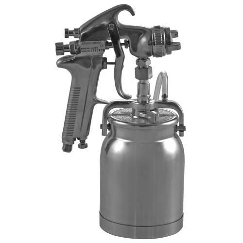 "Покрасочный пистолет ""Краскопульт"" 3-6 Атм, 337-421 л/мин, дюза 1,6мм, алюминевый бачок, JA-507S"
