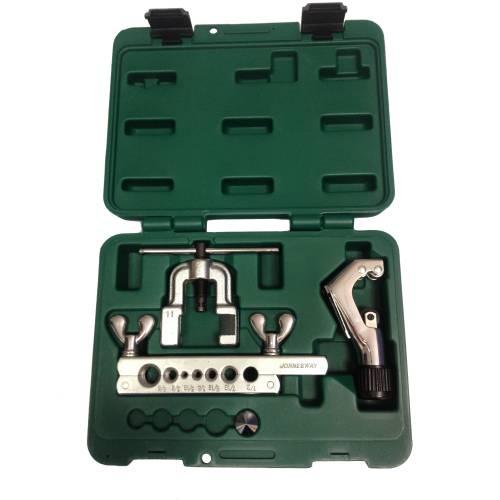 Комплект инструментов для обжимки и развальцовки труб, AN040045