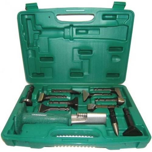Многофункциональный ударный инструмент со сменными насадками, 11 насадок, AG010141