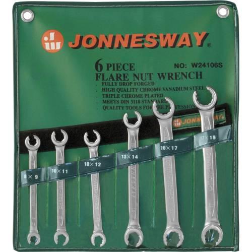 Набор ключей разрезных 8-19 мм, 6 предметов, W24106S