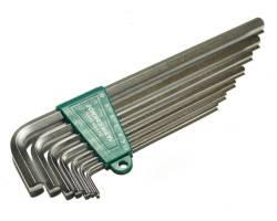 Комплект угловых шестиграников EXTRA LONG 2,5-10мм, 7 пр. S2 мат., H03SM107S