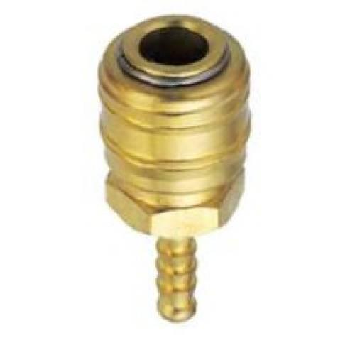 Быстросъемный разъем для пневматических изделий  (мама) под шланг 8мм, GM-02BH