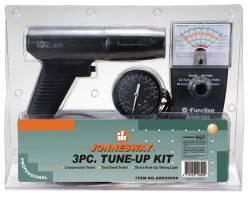 Комплект для регулировки двигателя: стробоскоп тестер, компресометр, AR020009