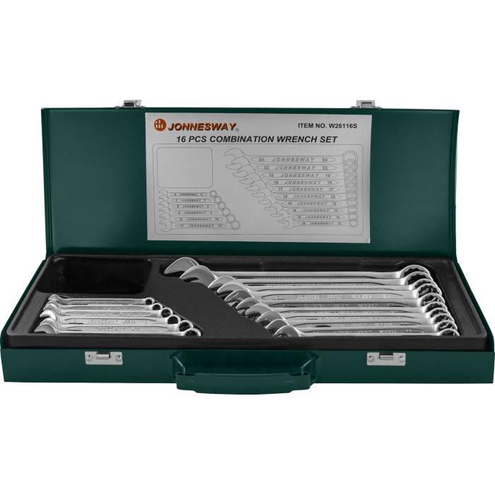 Набор комбинированных ключей 6-24мм, 16 предметов, W26116S