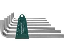 Комплект угловых шестиграников LONG 2,5-10мм, 7 пр. S2 материал, H02SM107S