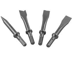 Комплект коротких зубил для пневматического молотка (JAH-6833H), 4 пр., JAZ-3944H