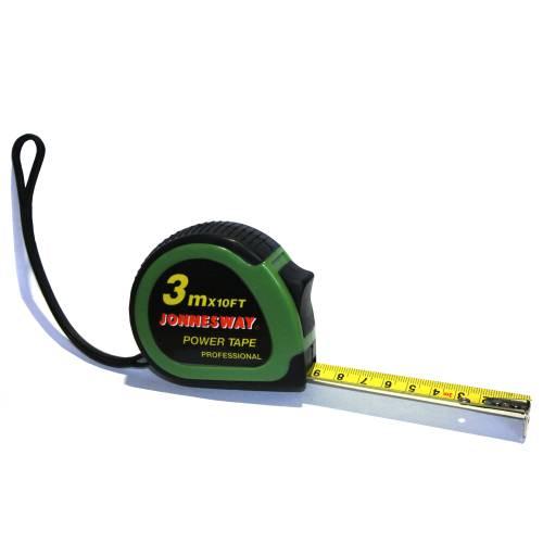 Рулетка, 3м, эргономический резиновый корпус, MT0201
